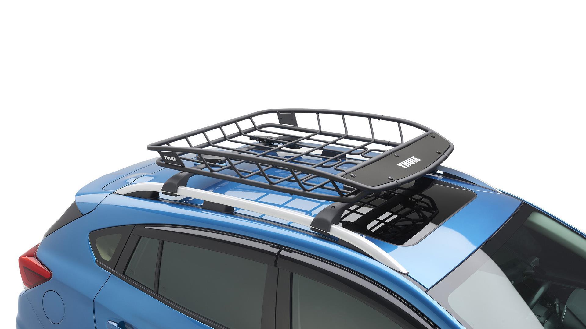 Subaru Crosstrek Thule Heavy-Duty Cargo Basket. Easy, Roof ...